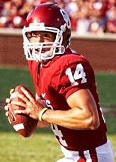 English: Sam Bradford, quarterback for the Okl...