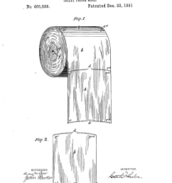 file toilet paper roll patent us465588 0 png [ 2320 x 3408 Pixel ]