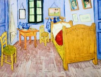 bedroom at arles | Psoriasisguru.com