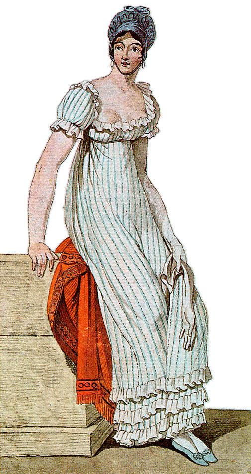 Istorija odevnih predmeta - Page 7 1810-Johann-Klein-dress