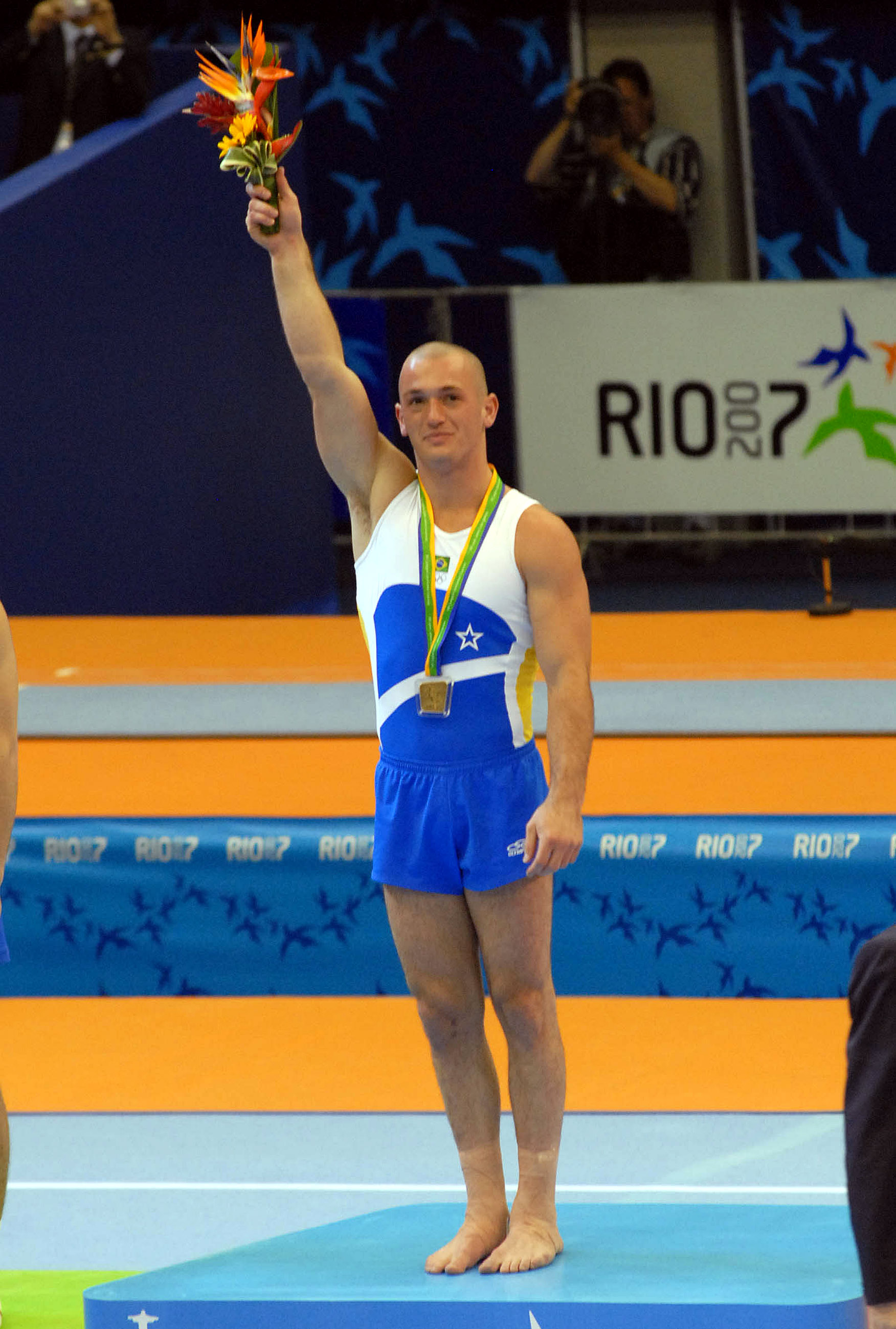 2005 and 2007 World Champion Diego Hypolito