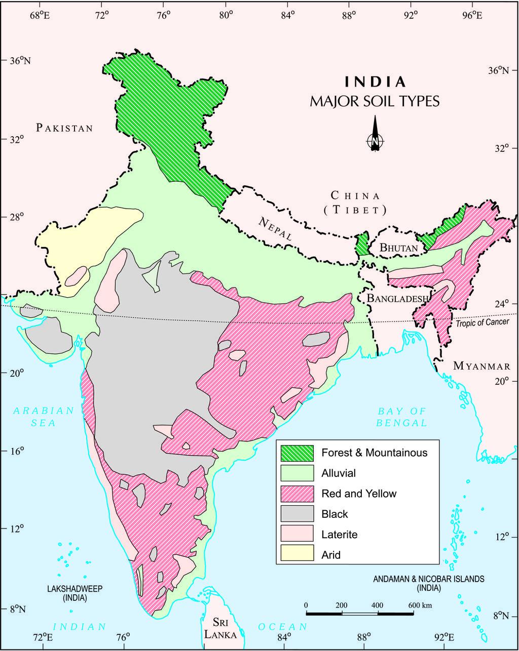 The Zonal Soil Type Of Peninsular India Belongs To