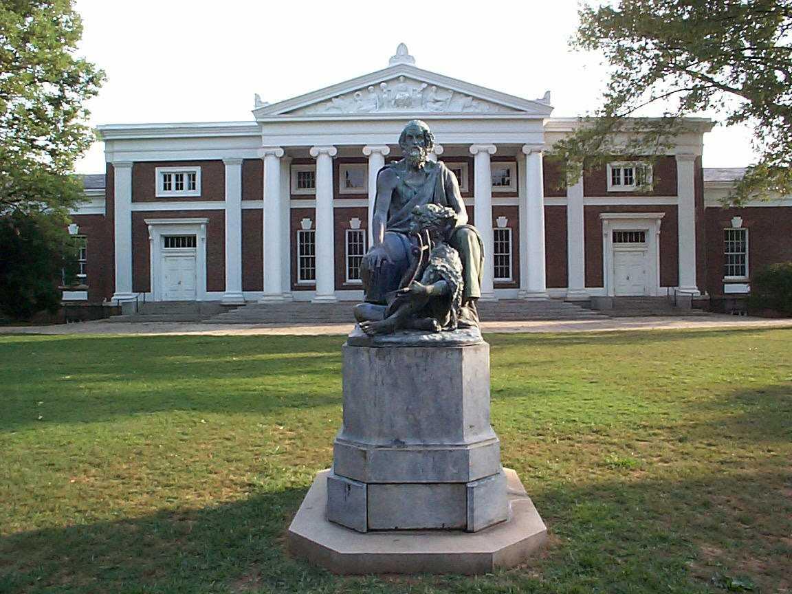 Fileold Cabell Hall And Homer University Of Virginiajpg