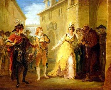 A Scene from Twelfth Night - William Hamilton