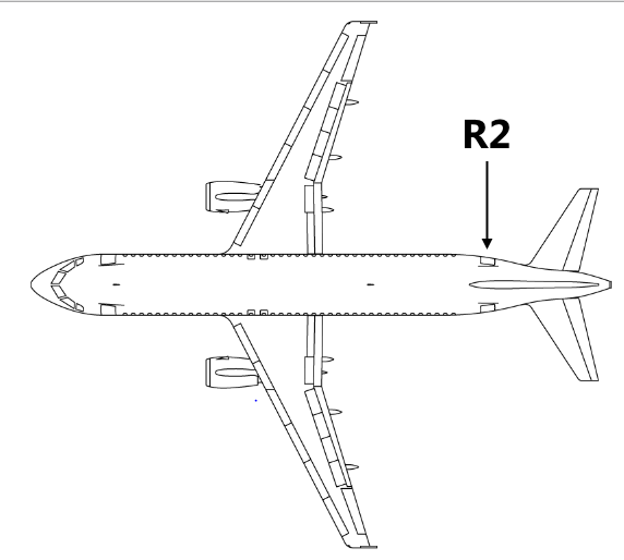 Airbus A320 Top View