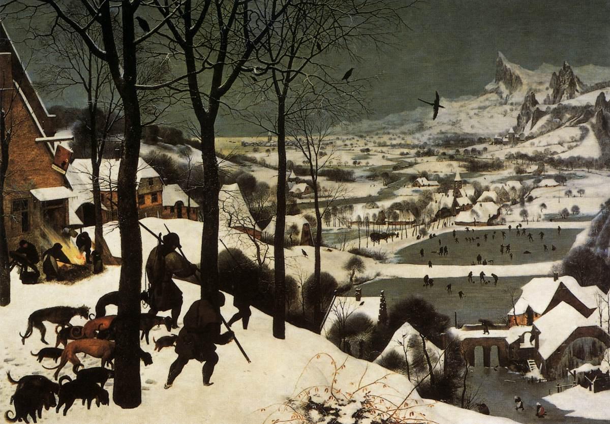 Cacciatori nella neve  Wikipedia