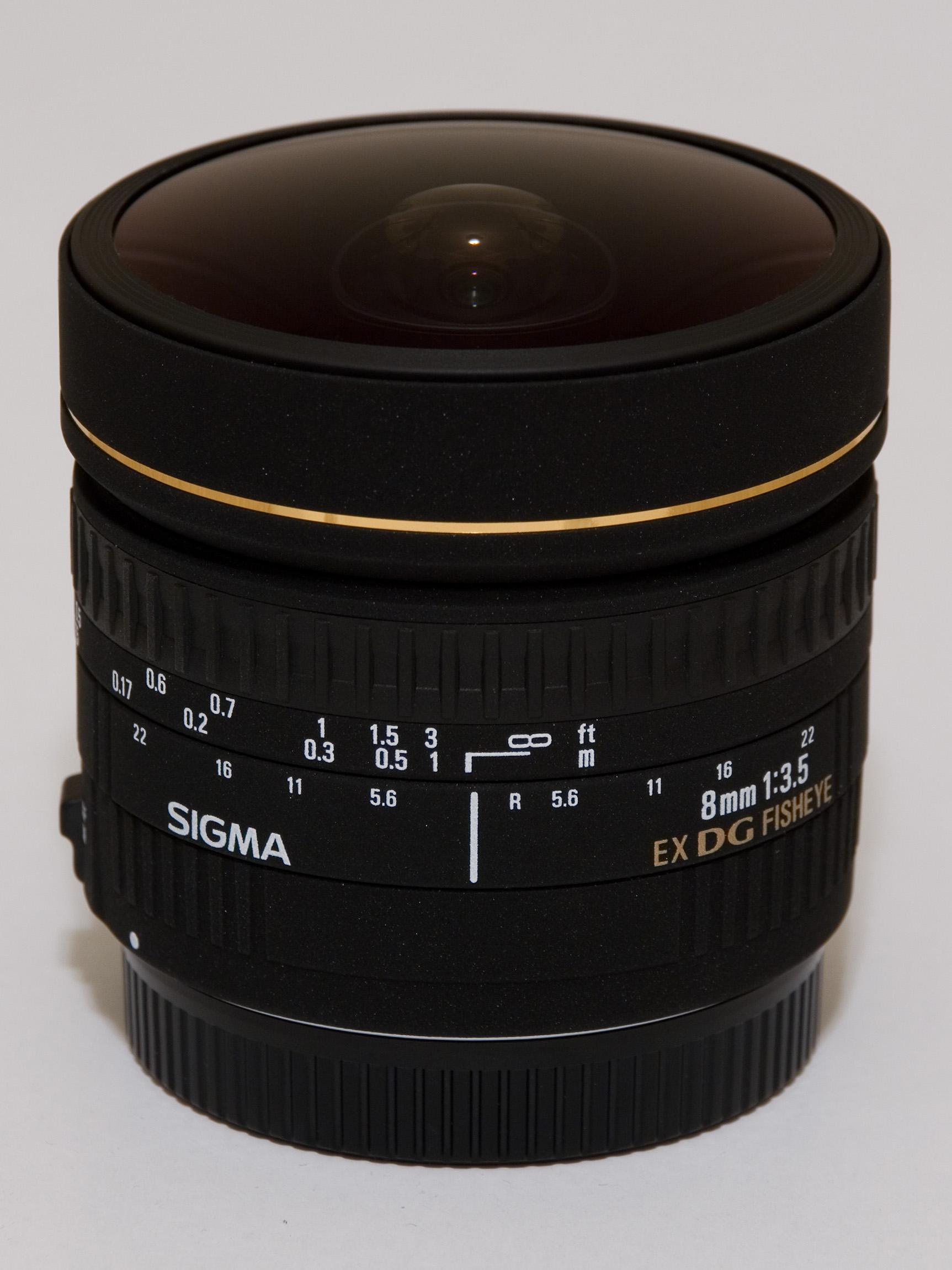 Sigma 8mm Fish Eye Lens
