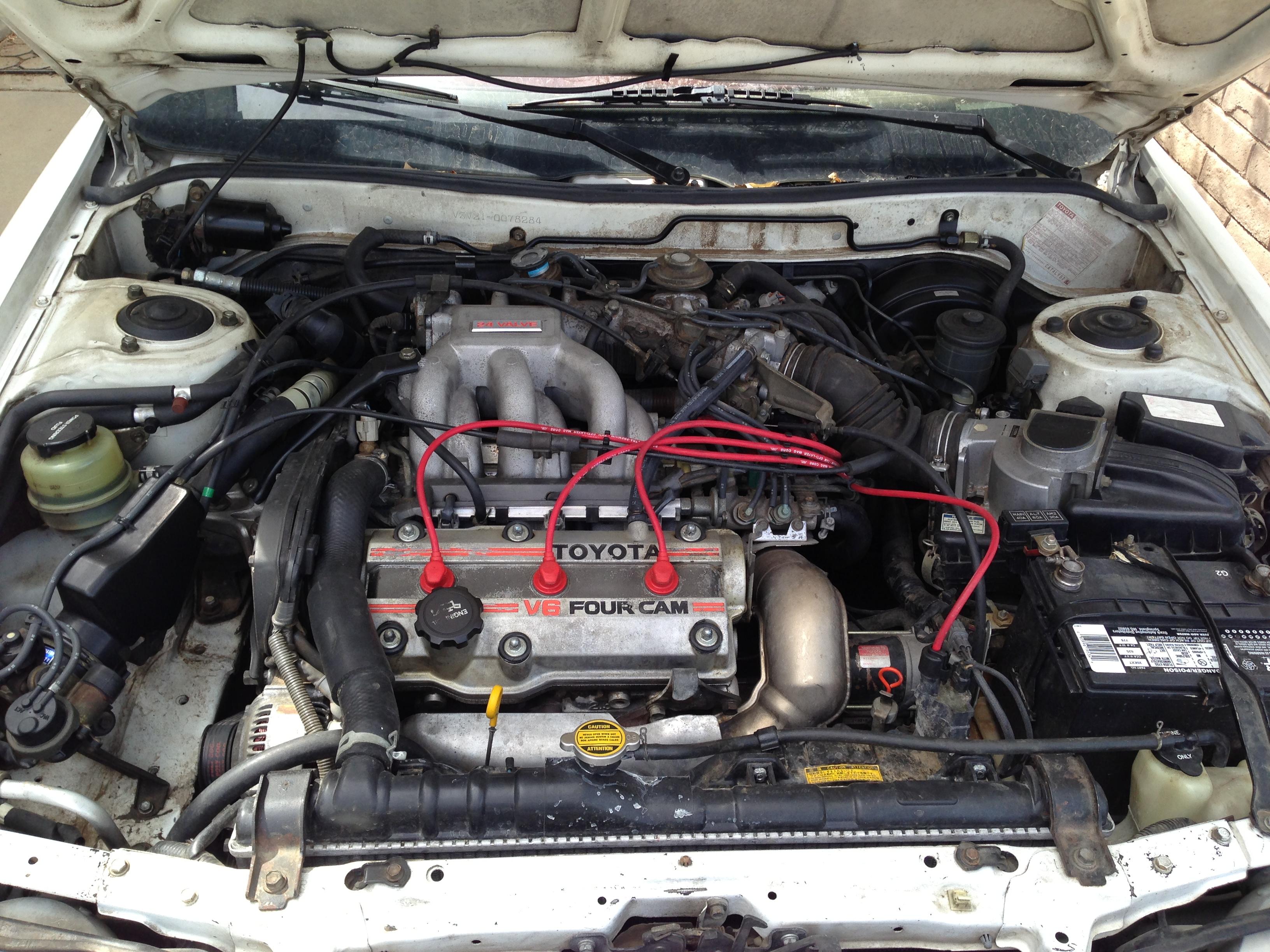 toyota corolla engine compartment diagram