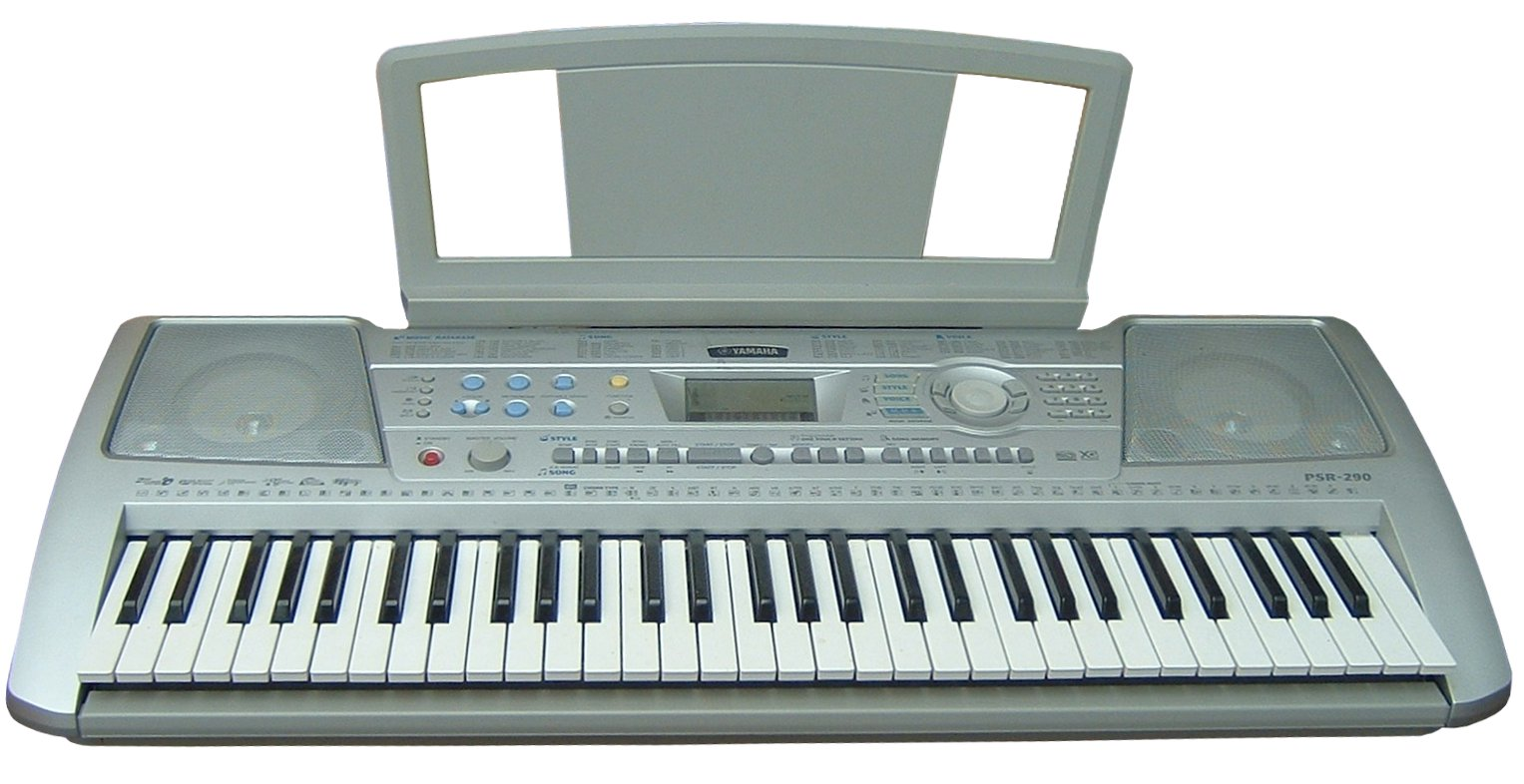 English: Yamaha electronic keyboard Français :...