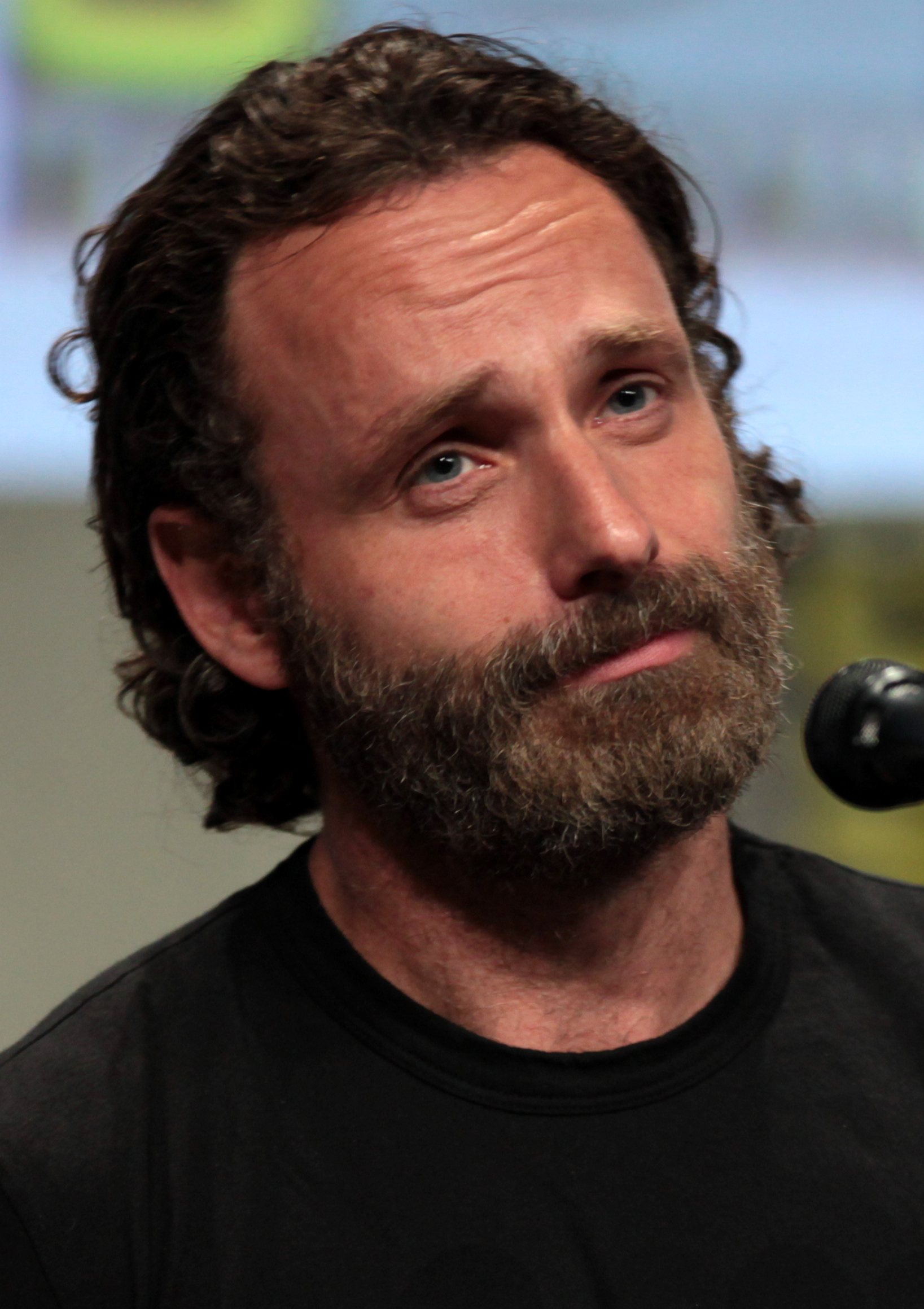 Andrew Lincoln 2017 Haircut Beard Eyes Weight Measurements