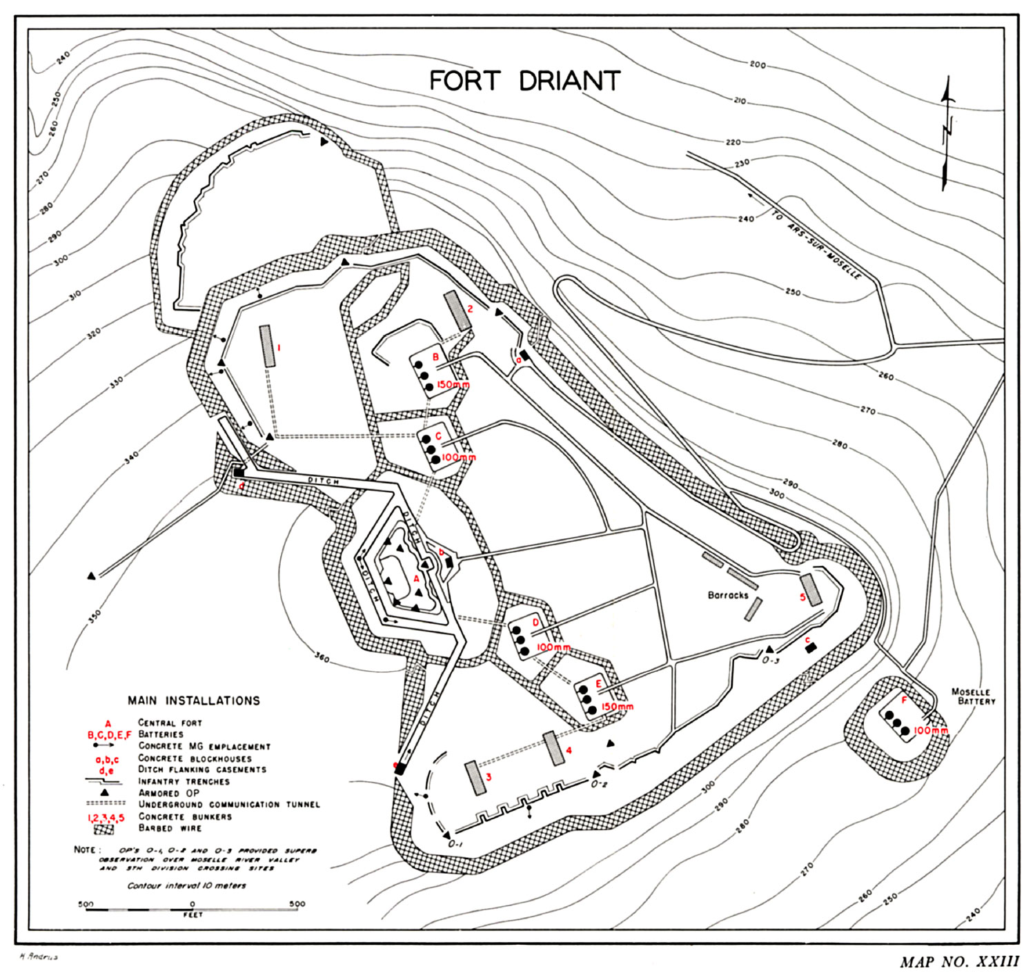 Battle Of Fort Driant
