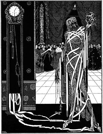 La máscara de la muerte roja -Poe-