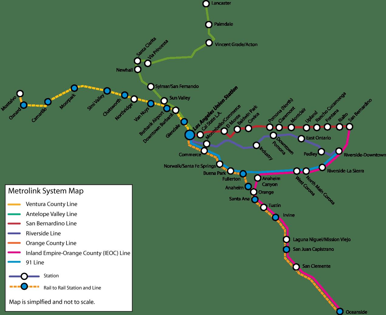 Metrolink Southern California