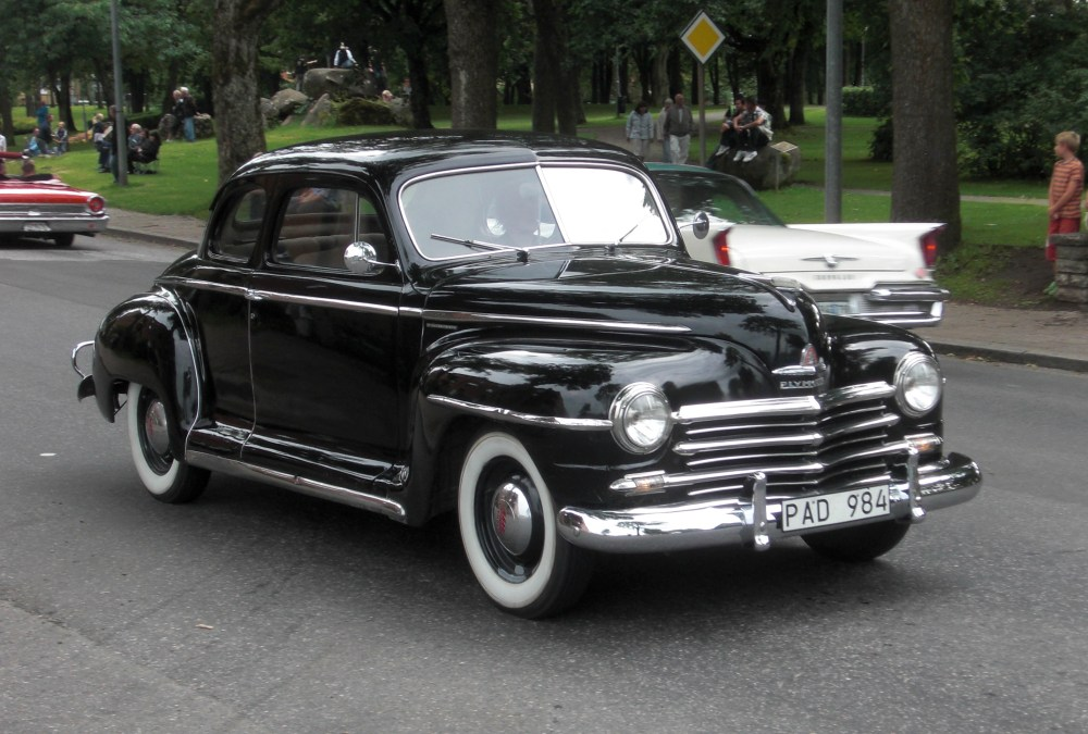 medium resolution of 1947 plymouth special de luxe club coupe