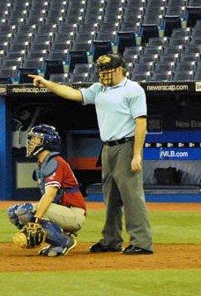 English: Photo Kirk Sawyers (baseball umpire)