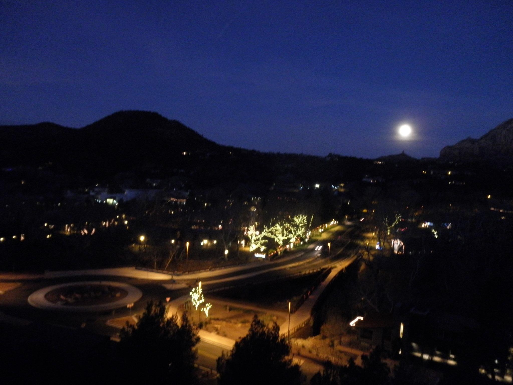 FileSedona Arizona night time with MoonJPG  Wikimedia