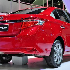 Toyota Yaris Trd Spoiler All New Camry 2018 Thailand Sedan 4d Vios 2013 2014 Abs Led Rear