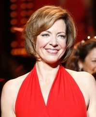 Allison Janney at The Heart Truth Fashion Show...