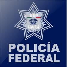 English: mexican federal police shield