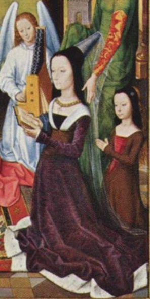 Lady Donne and daughter — from The Donne...