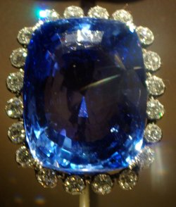 Logan Sapphire, National Museum of Natural His...