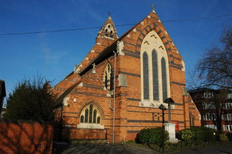 St Paul's church, Worcester