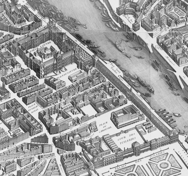 Tuileries Palace Map