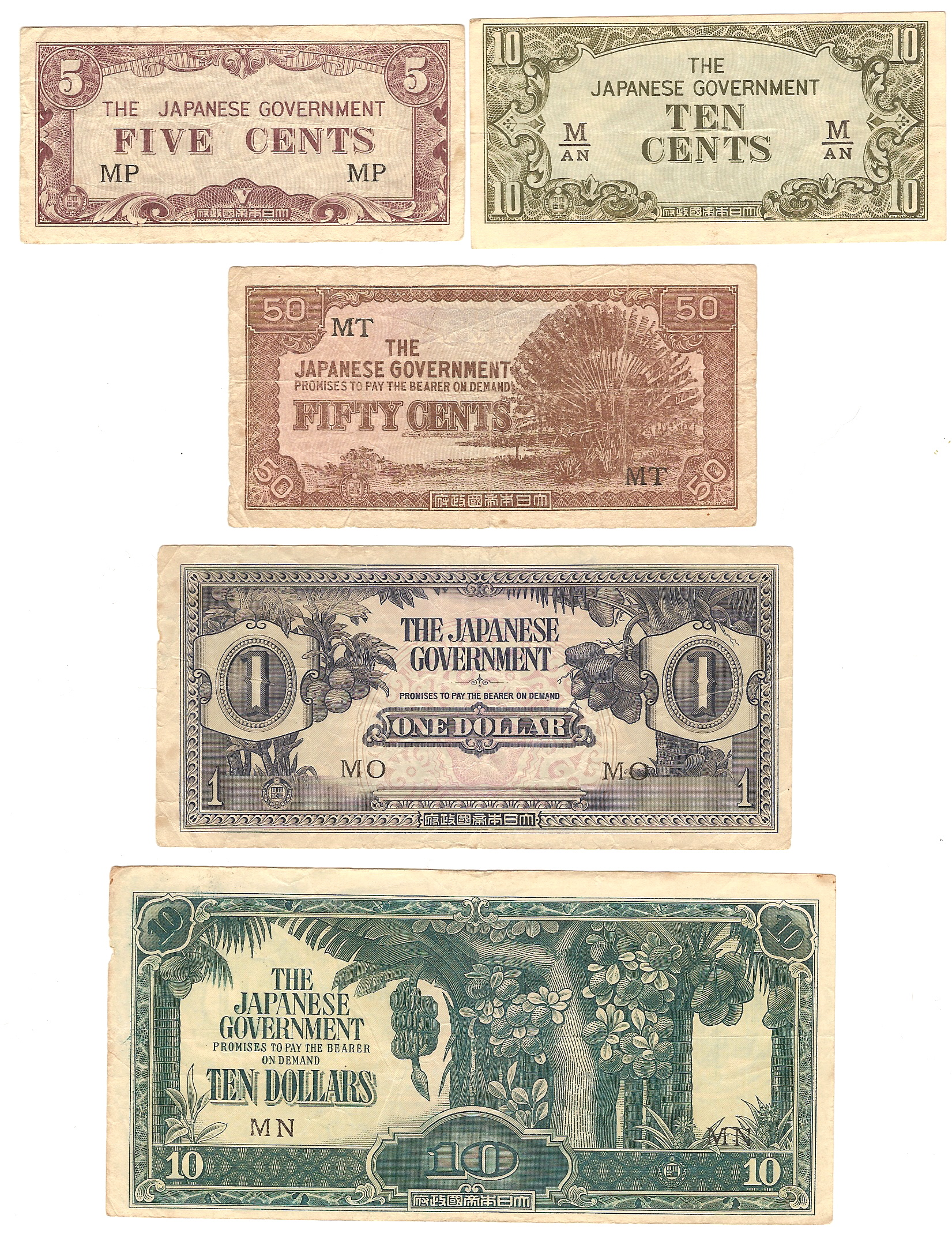 100 Dollar Berapa Rupiah : dollar, berapa, rupiah, Japanese, Government-issued, Dollar, Malaya, Borneo, Wikipedia