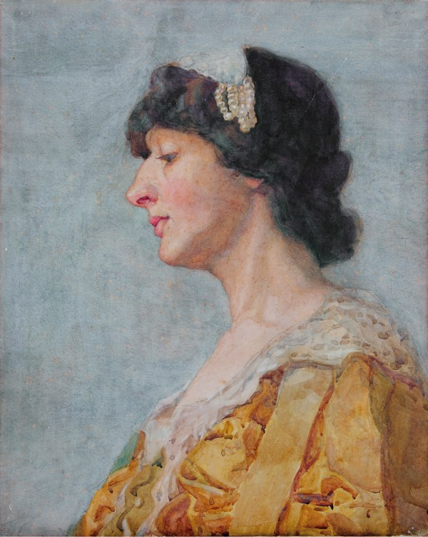 File Portrait Of Lady Attributed Anna Alma-tadema