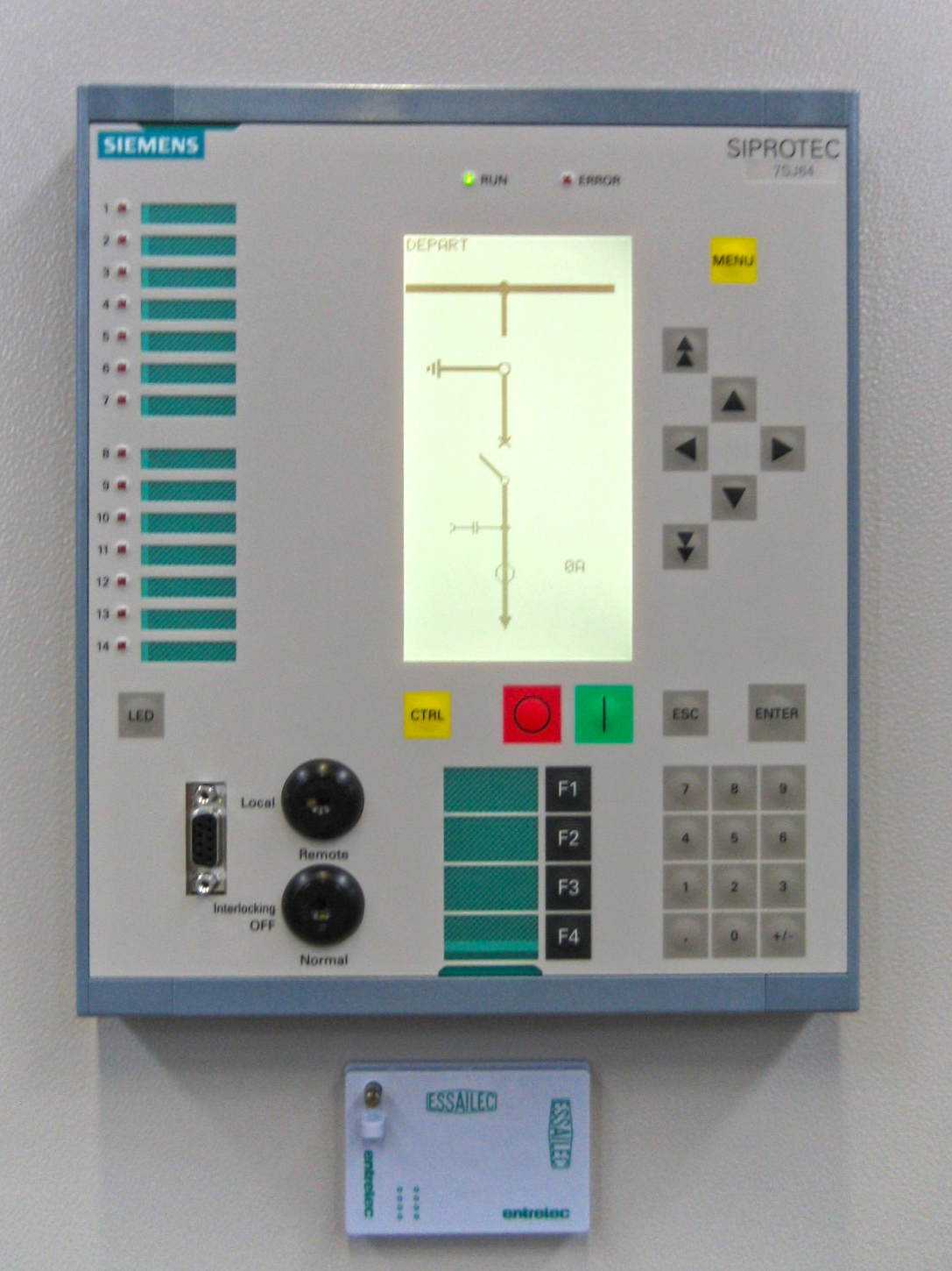 Electrical Relay Notation