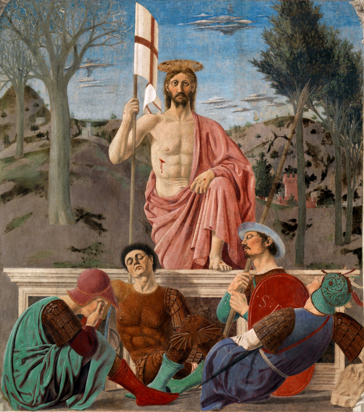 The Resurrection of Christ by Pierro della Francesca