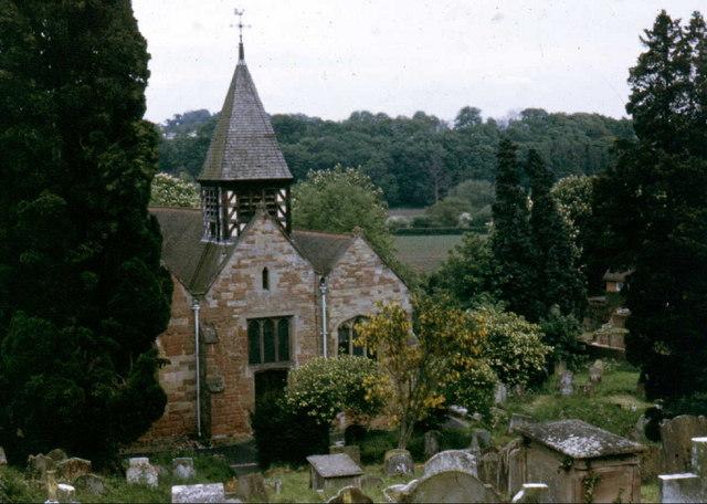 File:Ribbesford Church - geograph.org.uk - 703615.jpg - Wikimedia