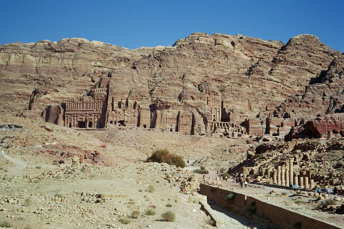 Petra's Royal Tombs