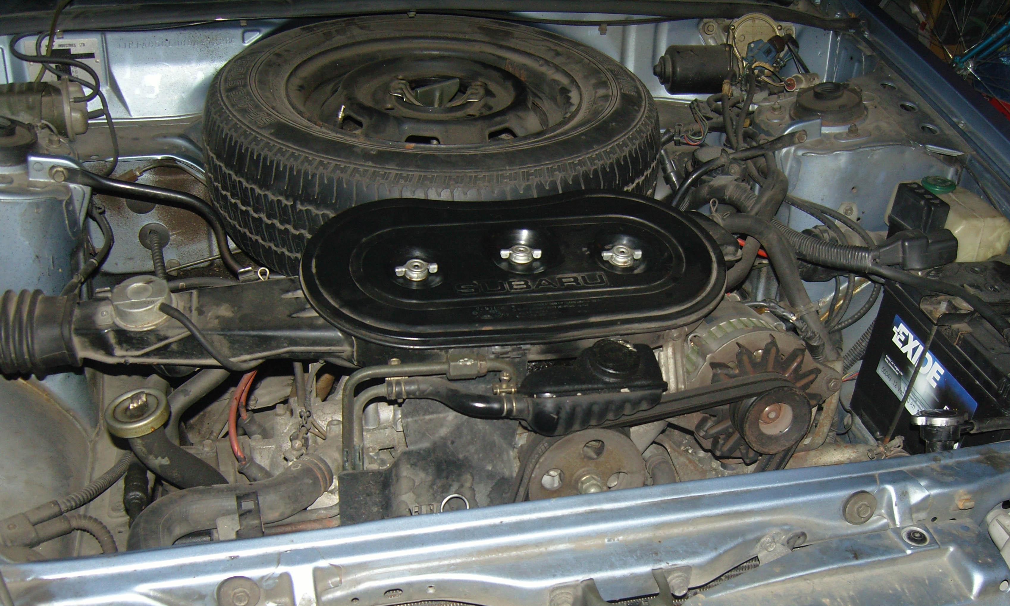 1990 subaru legacy engine diagram
