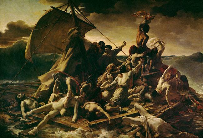 Raft of the Medusa, 1818-1819