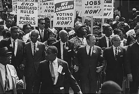 Image of the Civil Rights 1963 March on Washington