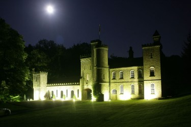castle carr hall night commons wikimedia
