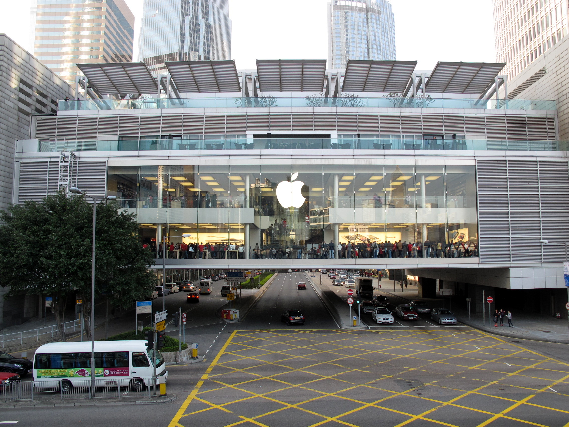 File:HK ifc Apple Store Outside View 201112.jpg - 維基百科,自由的百科全書