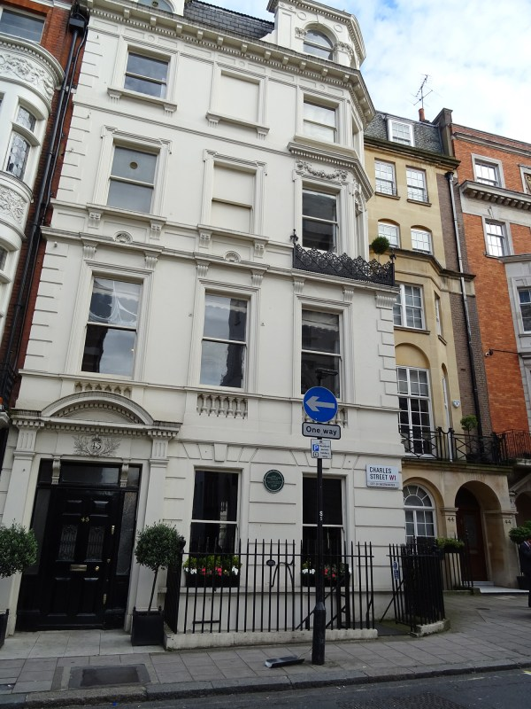 File Lady Dorothy Nevill - 45 Charles Street Mayfair London W1j Wikimedia Commons