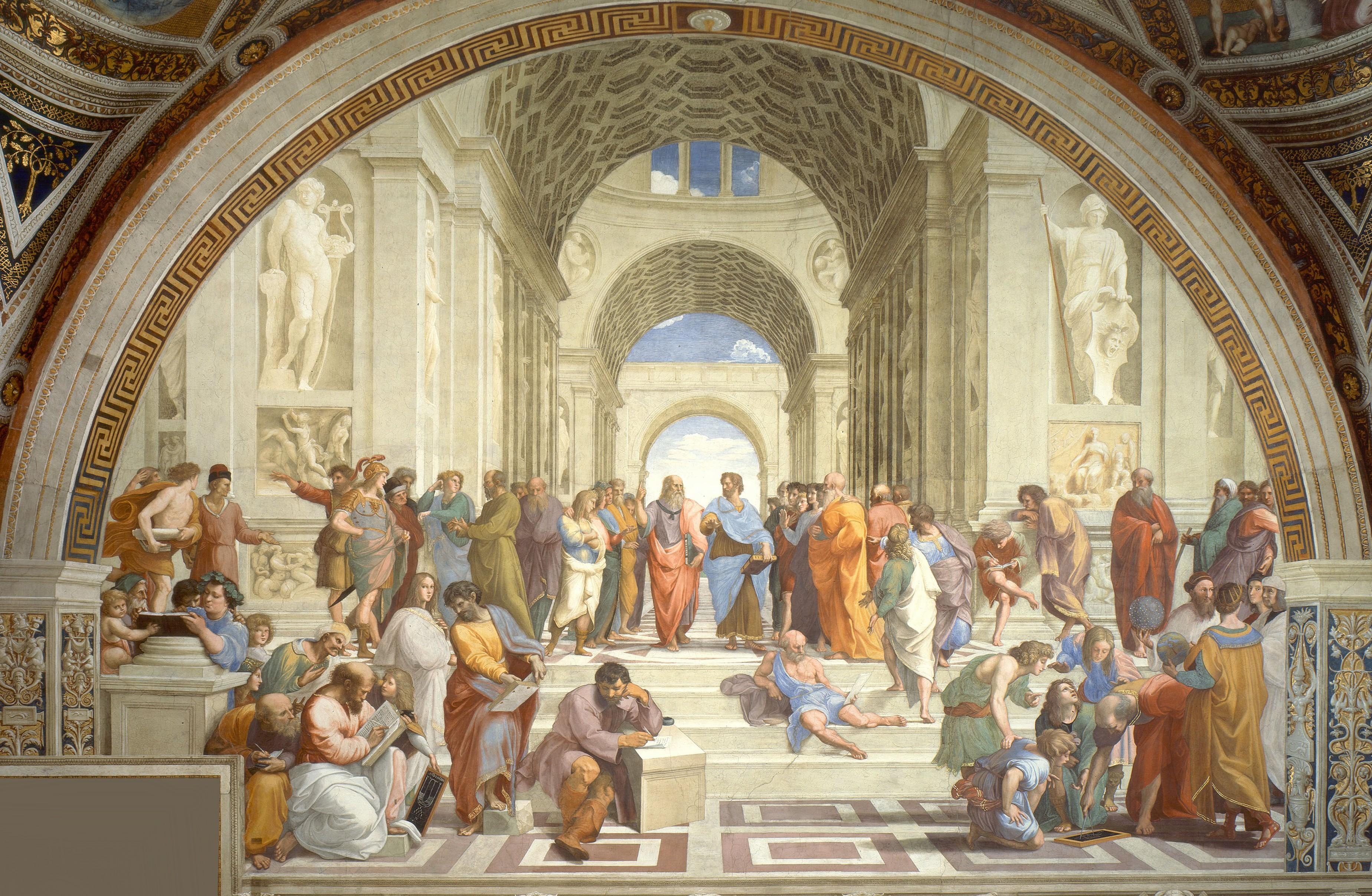 "Raphael's ""School of Athens""."