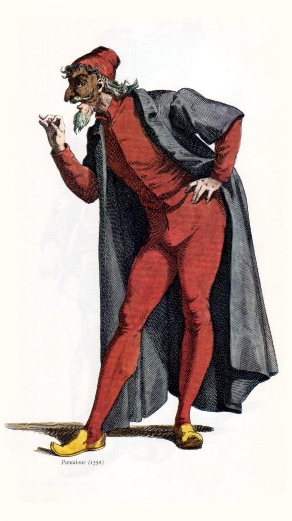Personnages De La Commedia Dell Arte : personnages, commedia, Pantalone, Wikipedia