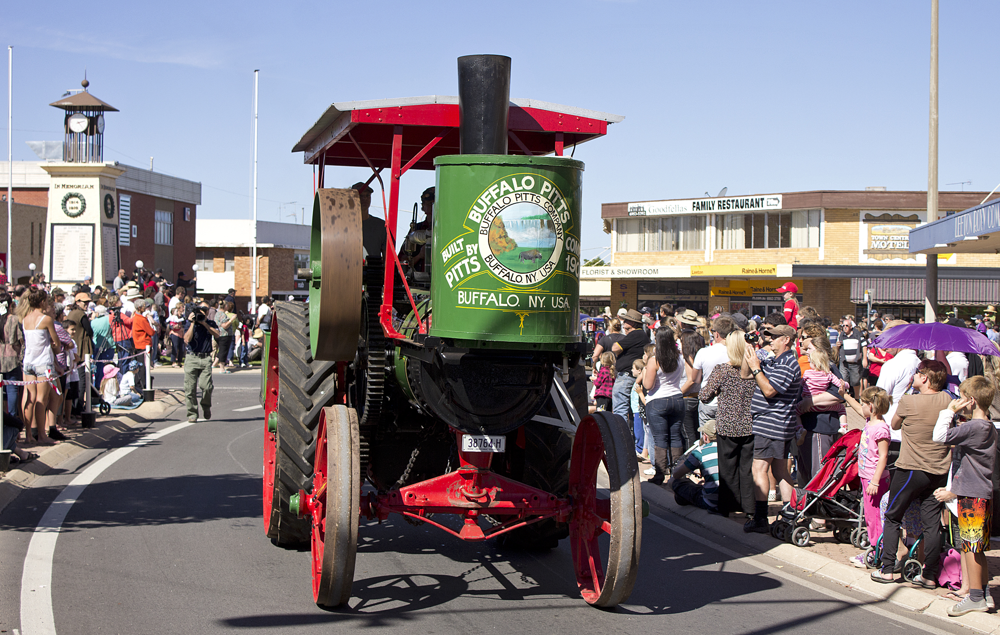 Buffalo Pitts Steam Traction Engine