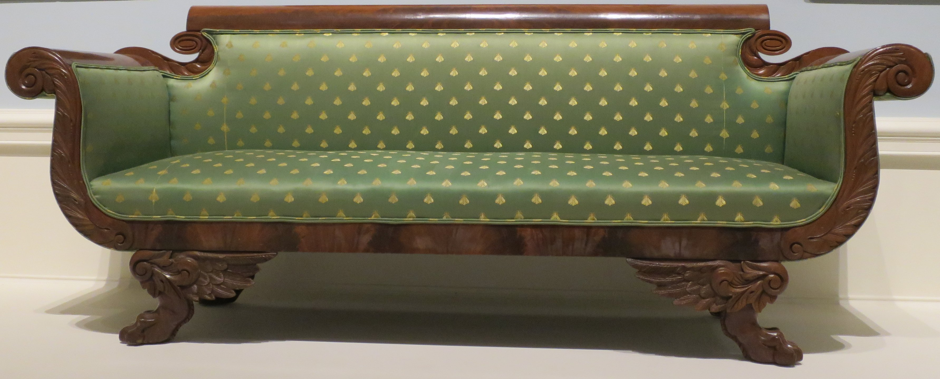 empire furniture sofa dfs sofas nl file american style c 1820 30 wood mahogany veneer and brocade upholstery dayton art institute jpg