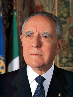 English: Italy's President Ciampi (1999-2006)....