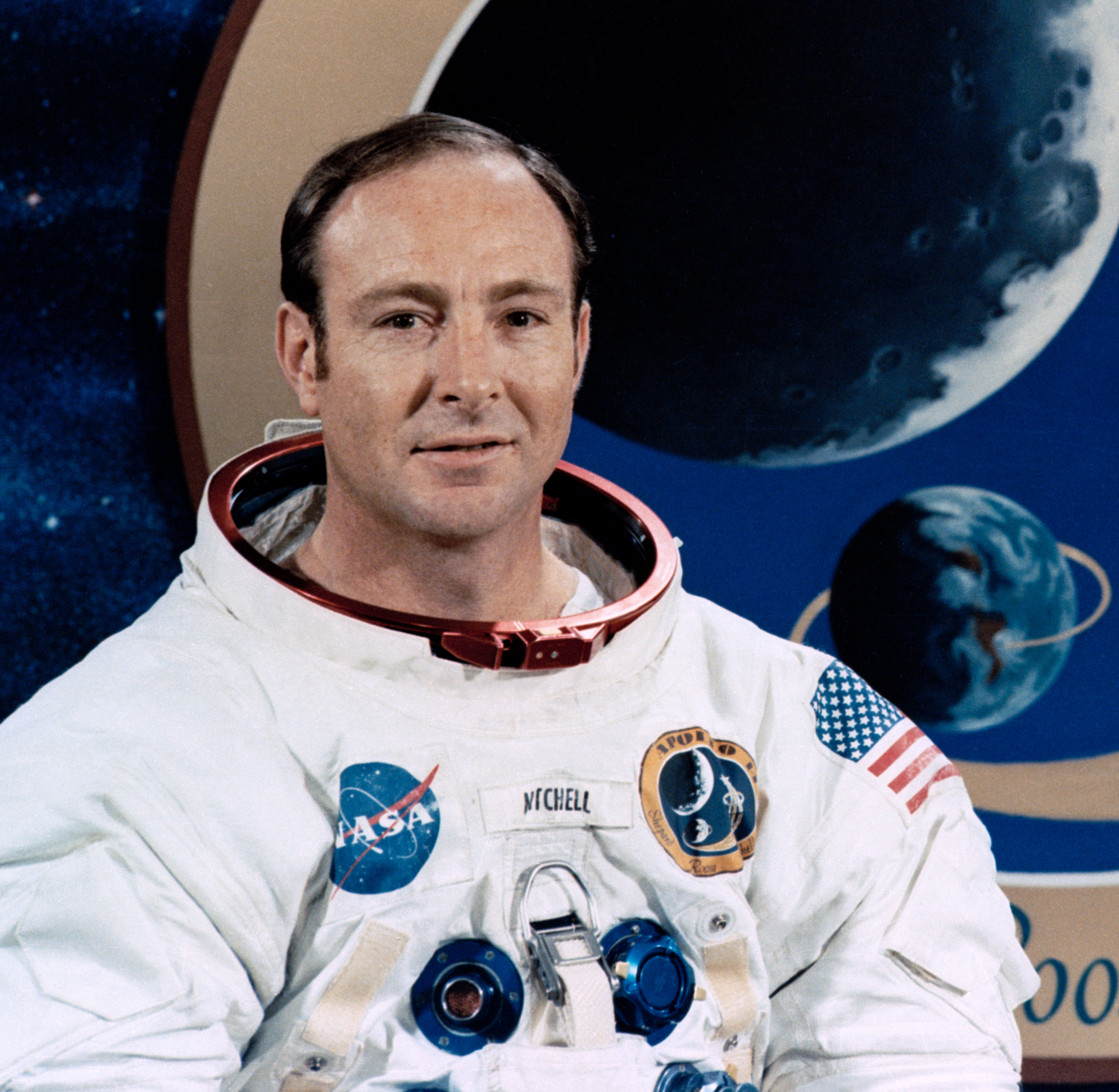 Edgar Mitchell, co-founder of the institute