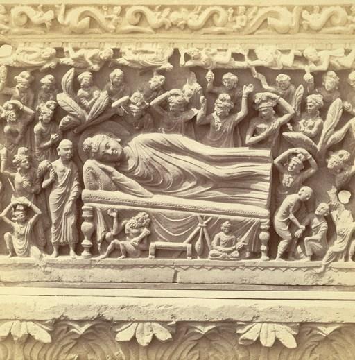 Nirvana buddha peshawar