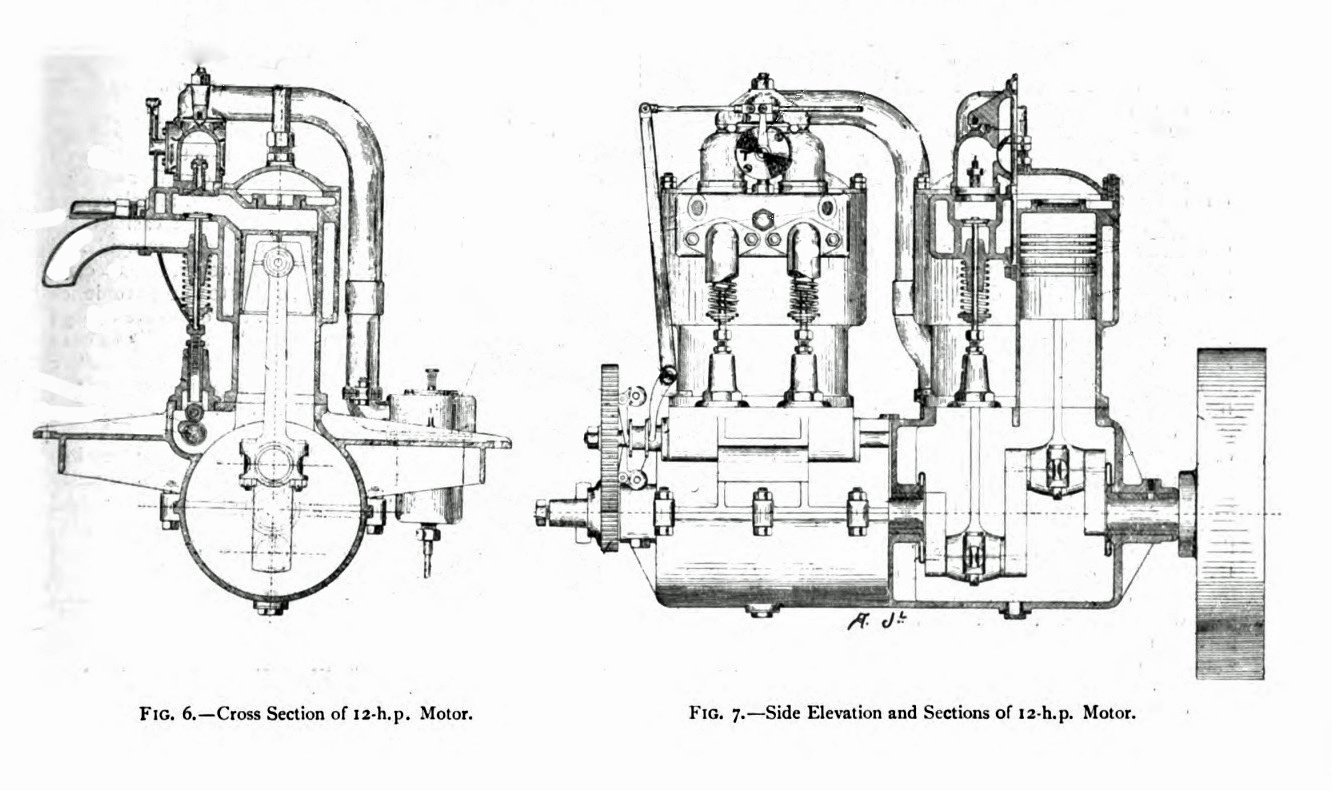 File Daimler 12 Engine Cross Section And Elevation