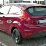 File Ford Fiesta Mk7 20090301 Rear Jpg Wikimedia Commons