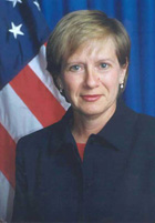 English: Marcie Berman Ries, U.S. Ambassador t...