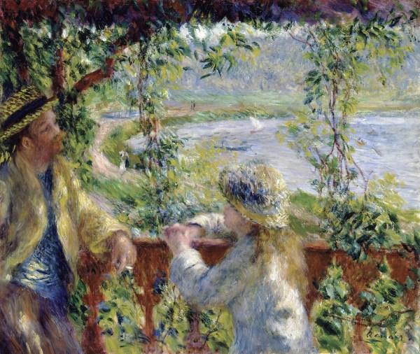 Pierre-Auguste Renoir Near the Lake